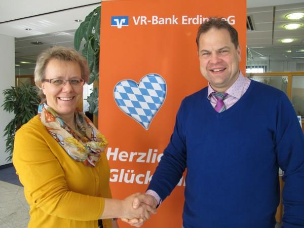 Herzlichen Glückwunsch Gewinnsparen VR-Bank Erding eG