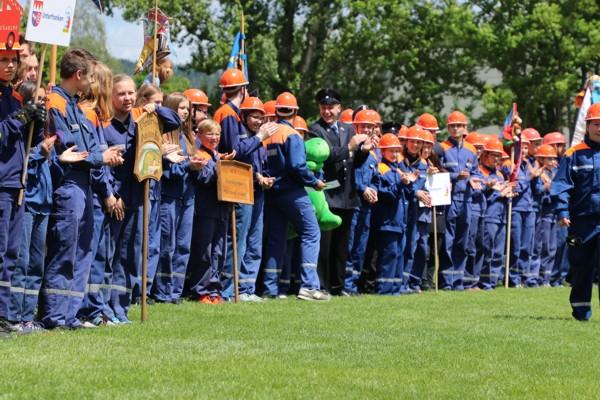 Jugendfeuerwehr Hörlkofen beim Bundeswettbewerb