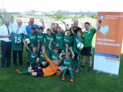 Bild des TSV Isen, Gewinner Merkur Cup-Kreisfinale 2015