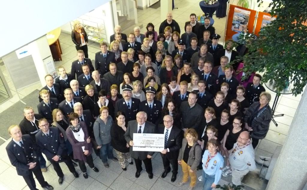 Spendenübergabe 2015