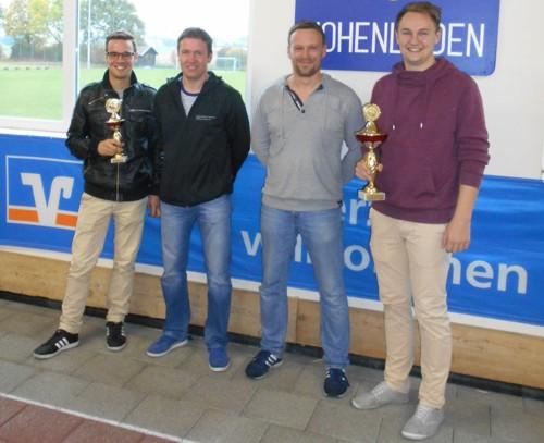 """Team """"Wir machen den Weg frei"""" der Raiffeisen-Volksbank Isen-Sempt eG"""