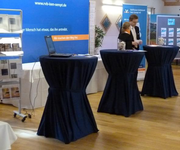 Stand der Raiffeisen-Volksbank Isen-Sempt eG
