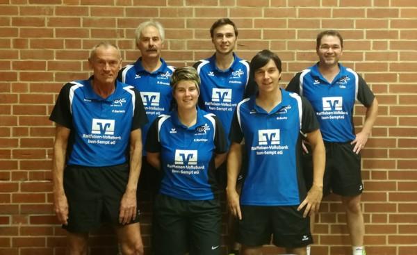 TSV Isen - Mannschaft Tischtennis