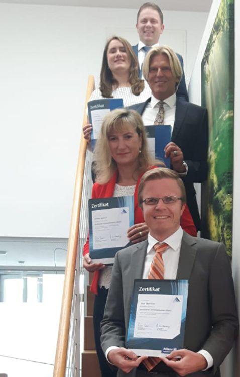zertifizierte Vorsorgeberater (Allianz) der VR-Bank Erding eG